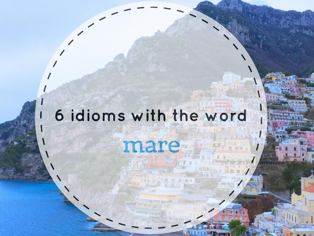 6 modi di dire con il mare