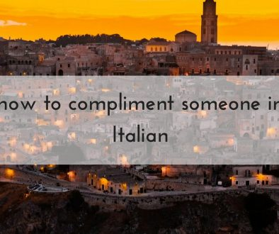 how to complimet