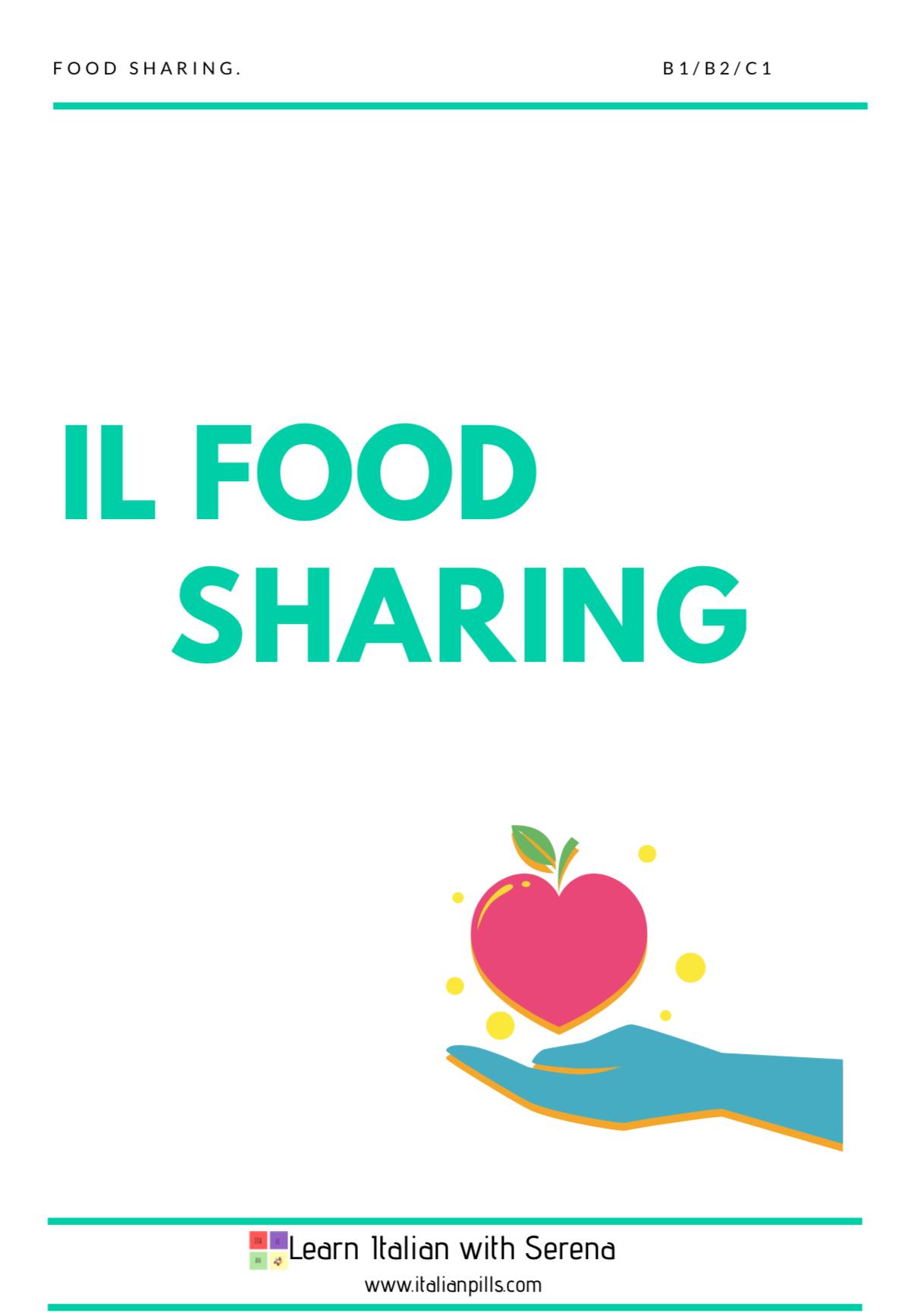 il food sharing (B1/B2/C1)