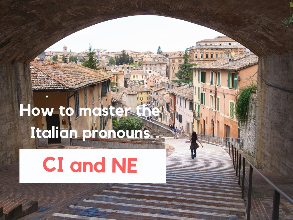 How to master the Italian particles CI and NE