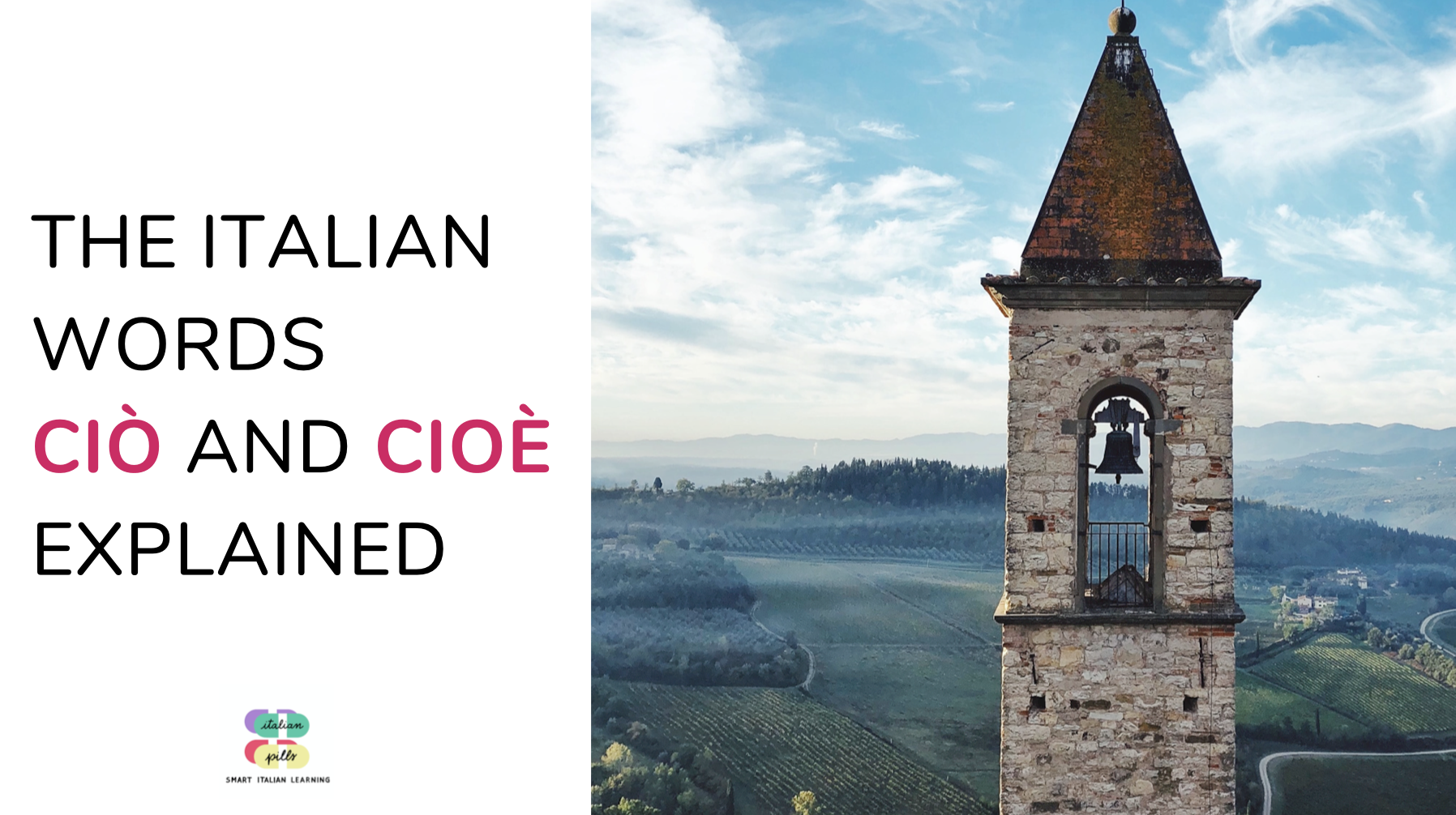 Ciò and cioè explained