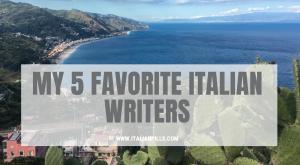 5 Italian authors whose books you should read
