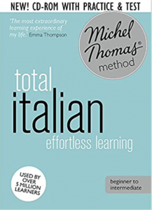 The Michel Thomas method is evergreen for language learners. Entirely audio based, Thomas breaks the language into digestible bites. Every audio last about 5 minutes and can be easily integrated to your regular Italian course.