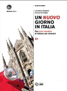 A killer A1 course-book for beginners who enjoy learning with structure and a goal. This textbook covers essential Italian grammar and vocabulary for beginners. It's excellent when used with a tutor and can be a fantastic help for solo learners too.