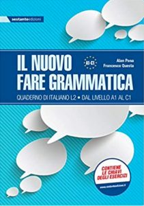 Drill book in Italian for all levels. There is no English in the explanations because this is an entirely Italian textbook. Good for those who need to go over and over all of the grammar topics from A1 to C1.
